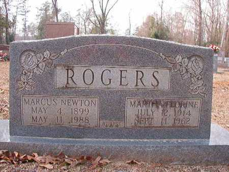 ROGERS, MARTHA FLORINE - Columbia County, Arkansas | MARTHA FLORINE ROGERS - Arkansas Gravestone Photos