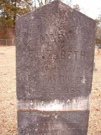 ROGERS, MARY ELIZABETH - Columbia County, Arkansas | MARY ELIZABETH ROGERS - Arkansas Gravestone Photos