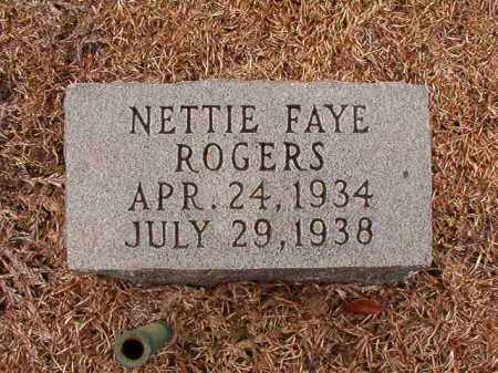 ROGERS, NETTIE FAYE - Columbia County, Arkansas | NETTIE FAYE ROGERS - Arkansas Gravestone Photos
