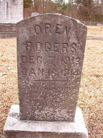 ROGERS, OREN - Columbia County, Arkansas | OREN ROGERS - Arkansas Gravestone Photos
