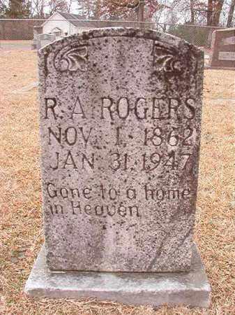 ROGERS, R A - Columbia County, Arkansas | R A ROGERS - Arkansas Gravestone Photos