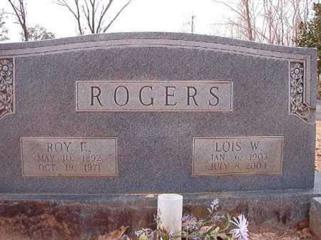 ROGERS, LOIS W - Columbia County, Arkansas | LOIS W ROGERS - Arkansas Gravestone Photos