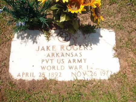ROGERS (VETERAN WWI), JAKE - Columbia County, Arkansas | JAKE ROGERS (VETERAN WWI) - Arkansas Gravestone Photos