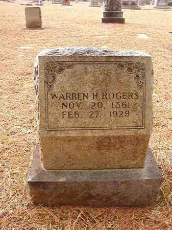ROGERS, WARREN H - Columbia County, Arkansas | WARREN H ROGERS - Arkansas Gravestone Photos