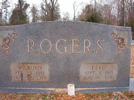 ROGERS, EFFIE - Columbia County, Arkansas | EFFIE ROGERS - Arkansas Gravestone Photos