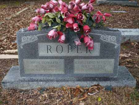 MALONE ROPER, CHRISTINE - Columbia County, Arkansas | CHRISTINE MALONE ROPER - Arkansas Gravestone Photos