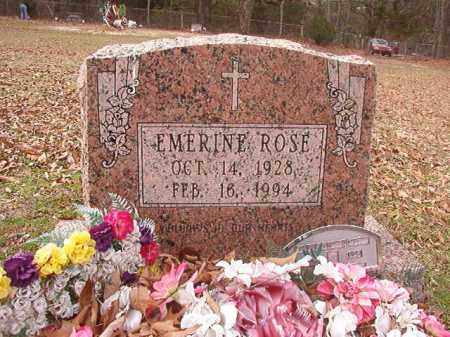 ROSE, EMERINE - Columbia County, Arkansas | EMERINE ROSE - Arkansas Gravestone Photos