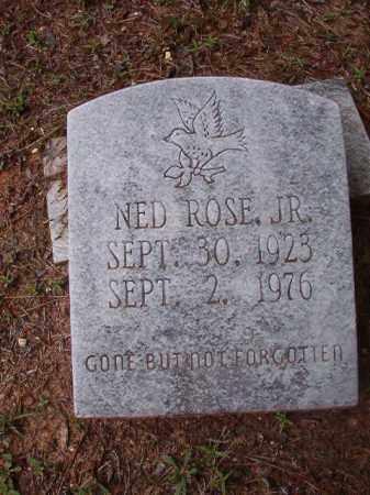 ROSE, JR, NED - Columbia County, Arkansas | NED ROSE, JR - Arkansas Gravestone Photos
