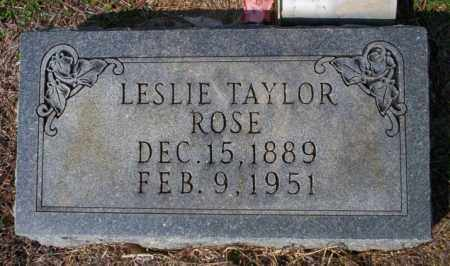 ROSE, LESLIE - Columbia County, Arkansas | LESLIE ROSE - Arkansas Gravestone Photos