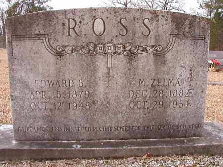 ROSS, EDWARD B - Columbia County, Arkansas | EDWARD B ROSS - Arkansas Gravestone Photos