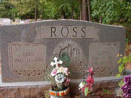 ROSS, GLADYS - Columbia County, Arkansas | GLADYS ROSS - Arkansas Gravestone Photos