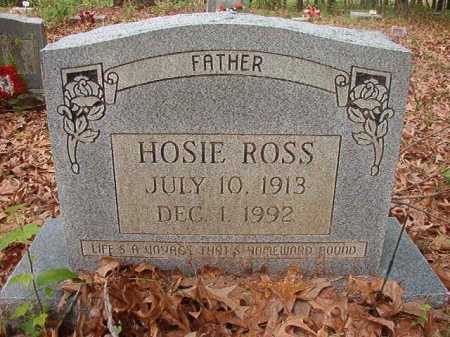 ROSS, HOSIE - Columbia County, Arkansas | HOSIE ROSS - Arkansas Gravestone Photos