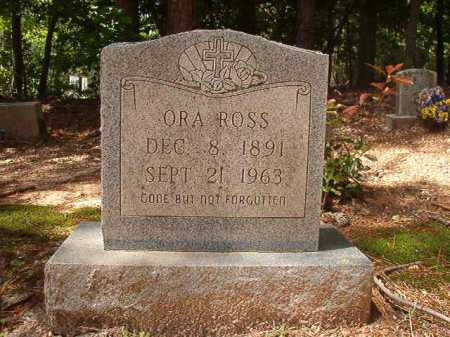 ROSS, ORA - Columbia County, Arkansas | ORA ROSS - Arkansas Gravestone Photos