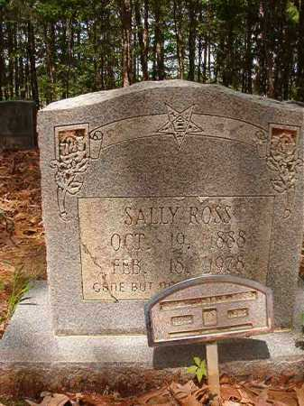 ROSS, SALLY - Columbia County, Arkansas | SALLY ROSS - Arkansas Gravestone Photos