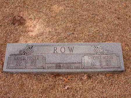 ROW, GRACIE - Columbia County, Arkansas | GRACIE ROW - Arkansas Gravestone Photos