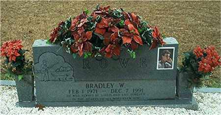 ROWE, BRADLEY W. - Columbia County, Arkansas | BRADLEY W. ROWE - Arkansas Gravestone Photos