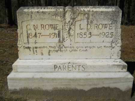 ROWE, C N - Columbia County, Arkansas | C N ROWE - Arkansas Gravestone Photos