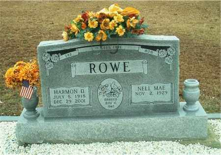 ROWE, NELL MAE - Columbia County, Arkansas | NELL MAE ROWE - Arkansas Gravestone Photos