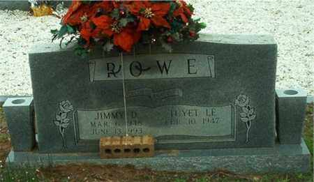 ROWE, JIMMY D. - Columbia County, Arkansas | JIMMY D. ROWE - Arkansas Gravestone Photos