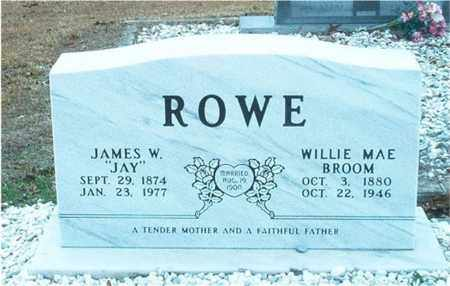 ROWE, WILLIE MAE - Columbia County, Arkansas | WILLIE MAE ROWE - Arkansas Gravestone Photos