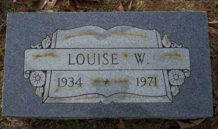 ROWE, LOUISE W - Columbia County, Arkansas | LOUISE W ROWE - Arkansas Gravestone Photos