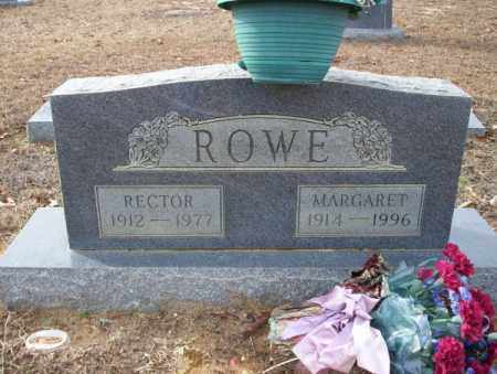 ROWE, RECTOR - Columbia County, Arkansas | RECTOR ROWE - Arkansas Gravestone Photos