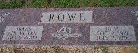 ROWE, TRAVIS - Columbia County, Arkansas | TRAVIS ROWE - Arkansas Gravestone Photos