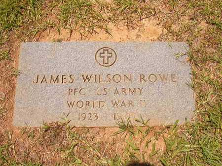 ROWE (VETERAN WWII), JAMES WILSON - Columbia County, Arkansas | JAMES WILSON ROWE (VETERAN WWII) - Arkansas Gravestone Photos