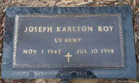 ROY (VETERAN), JOSEPH KARLTON - Columbia County, Arkansas | JOSEPH KARLTON ROY (VETERAN) - Arkansas Gravestone Photos