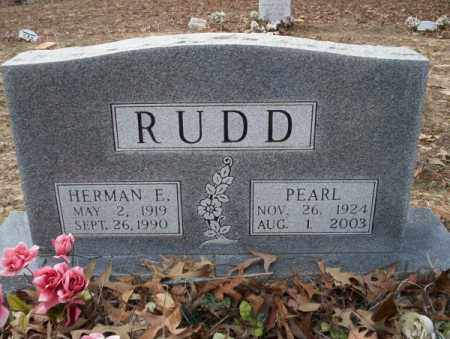 RUDD, HERMAN E - Columbia County, Arkansas | HERMAN E RUDD - Arkansas Gravestone Photos