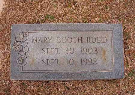 BOOTH RUDD, MARY - Columbia County, Arkansas | MARY BOOTH RUDD - Arkansas Gravestone Photos