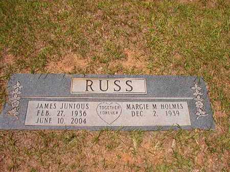 RUSS, JAMES JUNIOUS - Columbia County, Arkansas | JAMES JUNIOUS RUSS - Arkansas Gravestone Photos