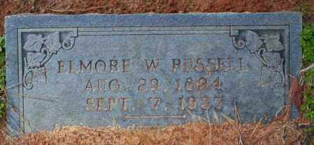 RUSSELL, ELMORE W - Columbia County, Arkansas | ELMORE W RUSSELL - Arkansas Gravestone Photos