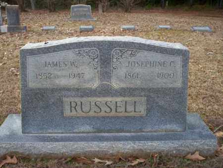 RUSSELL, JAMES W - Columbia County, Arkansas | JAMES W RUSSELL - Arkansas Gravestone Photos