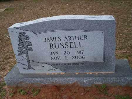 RUSSELL, JAMES ARTHUR - Columbia County, Arkansas | JAMES ARTHUR RUSSELL - Arkansas Gravestone Photos