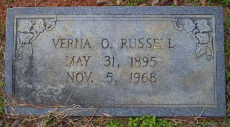 RUSSELL, VERNA O - Columbia County, Arkansas | VERNA O RUSSELL - Arkansas Gravestone Photos