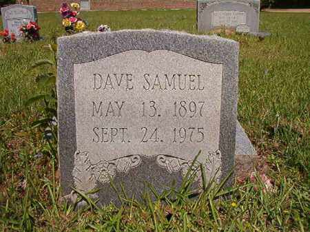 SAMUEL, DAVE - Columbia County, Arkansas | DAVE SAMUEL - Arkansas Gravestone Photos