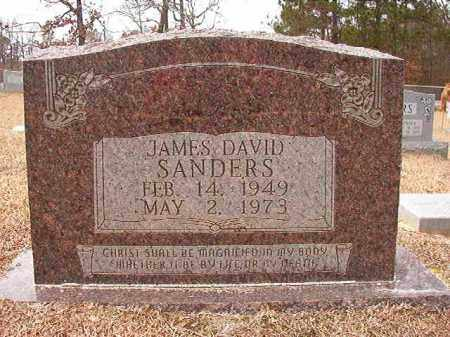 SANDERS, JAMES DAVID - Columbia County, Arkansas | JAMES DAVID SANDERS - Arkansas Gravestone Photos