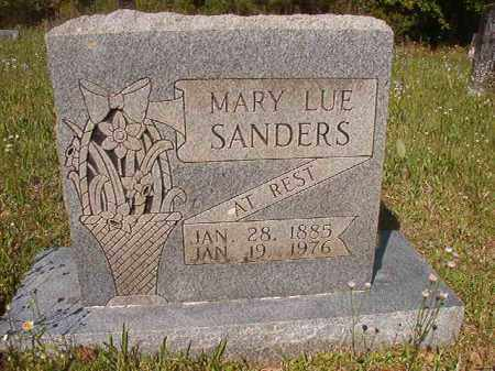 SANDERS, MARY LUE - Columbia County, Arkansas | MARY LUE SANDERS - Arkansas Gravestone Photos