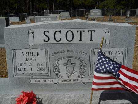 SCOTT, ARTHUR JAMES - Columbia County, Arkansas | ARTHUR JAMES SCOTT - Arkansas Gravestone Photos