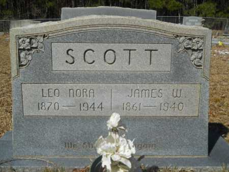 SCOTT, LEO NORA - Columbia County, Arkansas | LEO NORA SCOTT - Arkansas Gravestone Photos