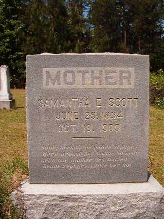 SCOTT, SAMANTHA E - Columbia County, Arkansas | SAMANTHA E SCOTT - Arkansas Gravestone Photos