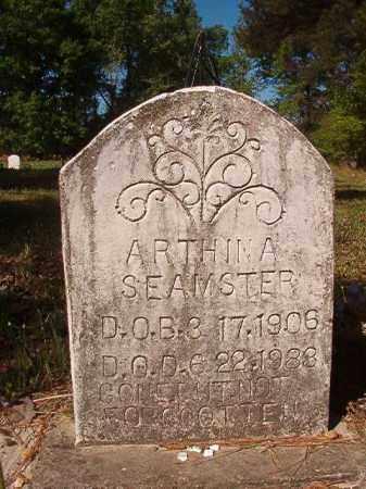 SEAMSTER, ARTHINA - Columbia County, Arkansas | ARTHINA SEAMSTER - Arkansas Gravestone Photos