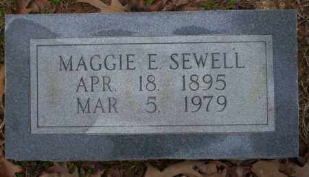 SEWELL, MAGGIE E - Columbia County, Arkansas | MAGGIE E SEWELL - Arkansas Gravestone Photos