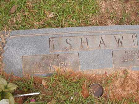 SHAW, ABNER - Columbia County, Arkansas | ABNER SHAW - Arkansas Gravestone Photos