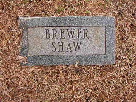 SHAW, BREWER - Columbia County, Arkansas | BREWER SHAW - Arkansas Gravestone Photos