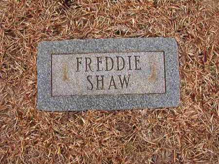 SHAW, FREDDIE - Columbia County, Arkansas | FREDDIE SHAW - Arkansas Gravestone Photos