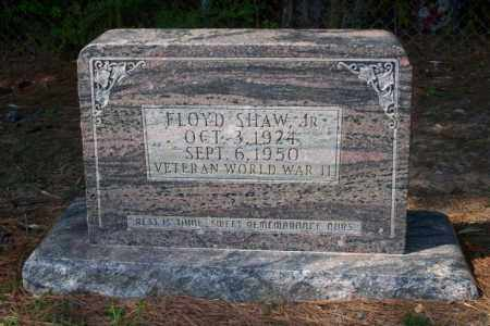 SHAW, JR (VETERAN WWII), FLOYD - Columbia County, Arkansas | FLOYD SHAW, JR (VETERAN WWII) - Arkansas Gravestone Photos