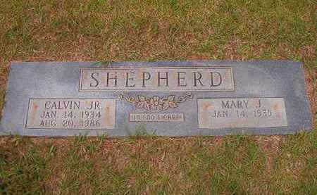 SHEPHERD, JR, CALVIN - Columbia County, Arkansas | CALVIN SHEPHERD, JR - Arkansas Gravestone Photos