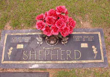 SHEPHERD, CARRIE DARLINE - Columbia County, Arkansas | CARRIE DARLINE SHEPHERD - Arkansas Gravestone Photos